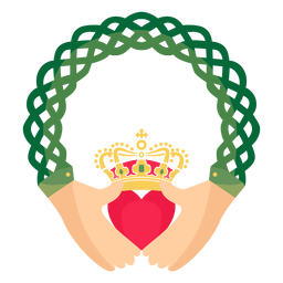 Celtic claddagh ring traditional