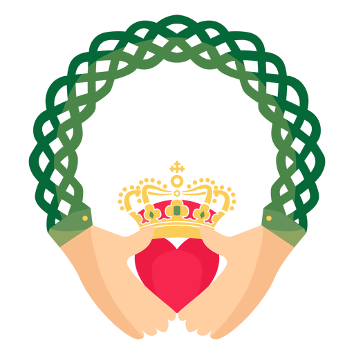 Celtic claddagh ring traditional Transparent PNG