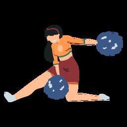 Cheerleaderin Illustration