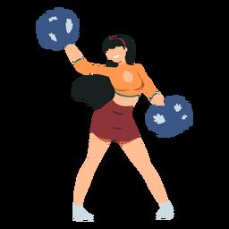 Cheerleader bewegen