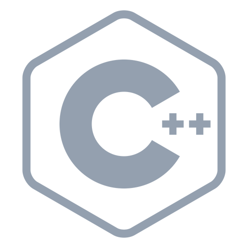 Cpp programming language flat Transparent PNG