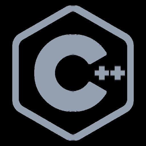 Lenguaje de programación cpp plano Transparent PNG