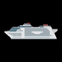 Kreuzfahrtschiff-Symbol