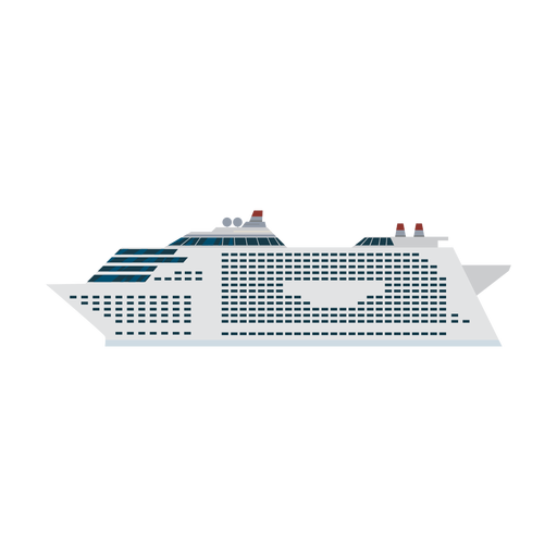 Ícone de navio de cruzeiro Transparent PNG