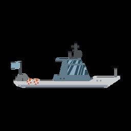 Icono de barco de crucero
