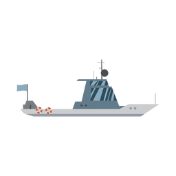 Kreuzerboot-Symbol