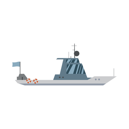 Cruiser boat icon Transparent PNG
