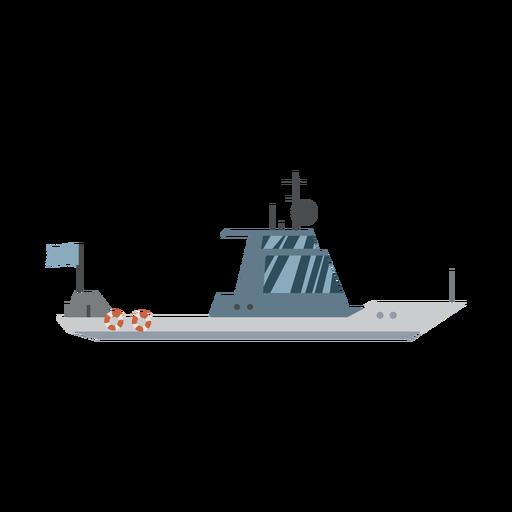 Icono de barco de crucero Transparent PNG