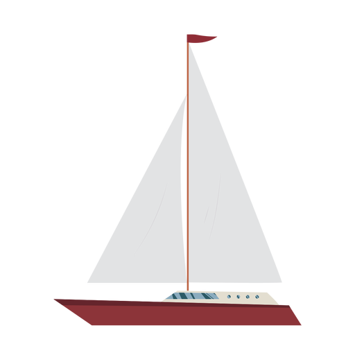 Cruising yacht ship icon Transparent PNG