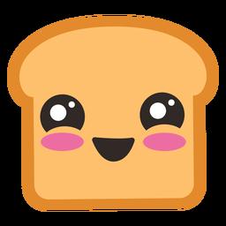 Emoji lindo tostadas