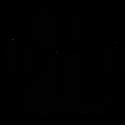 Código de barras de impressão de pata de cão