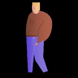 Pai, simples, ilustração