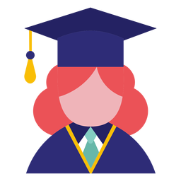 Female graduate avatar