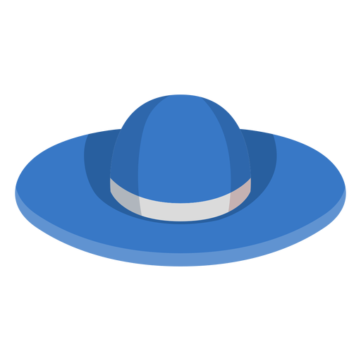 Floppy beach hat icon Transparent PNG
