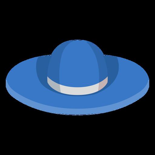 Icono de sombrero de playa floppy Transparent PNG