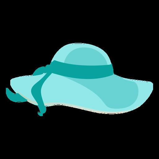 Chapéu de praia flexível com fita Transparent PNG
