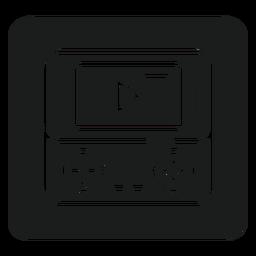 Gameboy camiseta gráfico