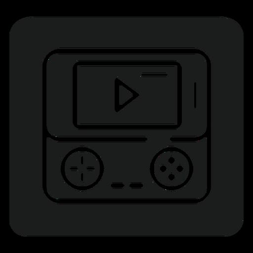 Gameboy-T-Shirt Grafik Transparent PNG