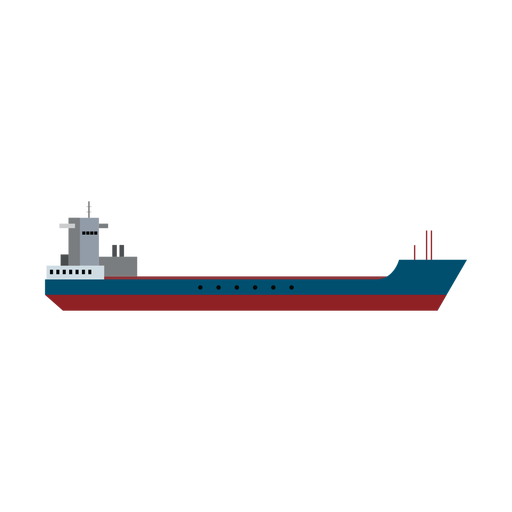 Icono de barco de basura