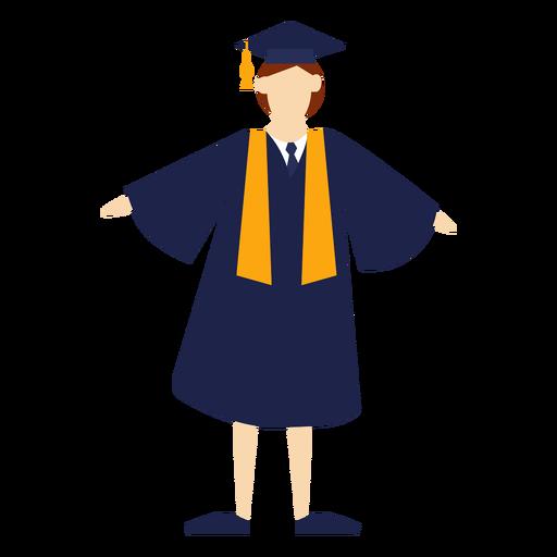 Graduate flat Transparent PNG