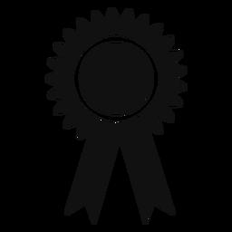 Fita de prêmio de formatura plana