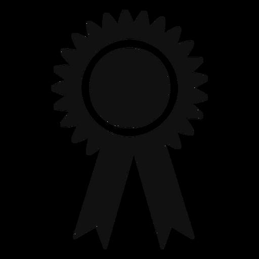 Graduation award ribbon flat