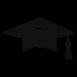 Casquillo graduación plana
