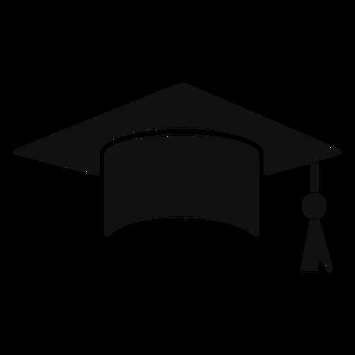 Gorro de graduación plano