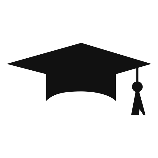 Icono de gorro de graduación iconos de graduación