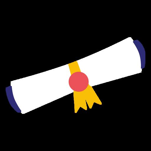 Diploma de graduacion Transparent PNG