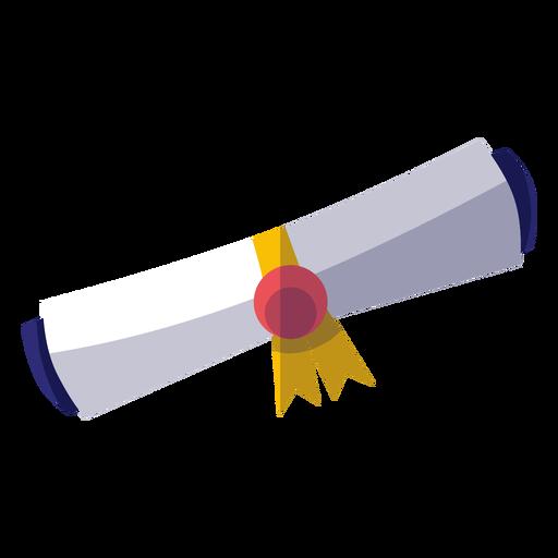 Abschluss-Diplom-Symbol Transparent PNG