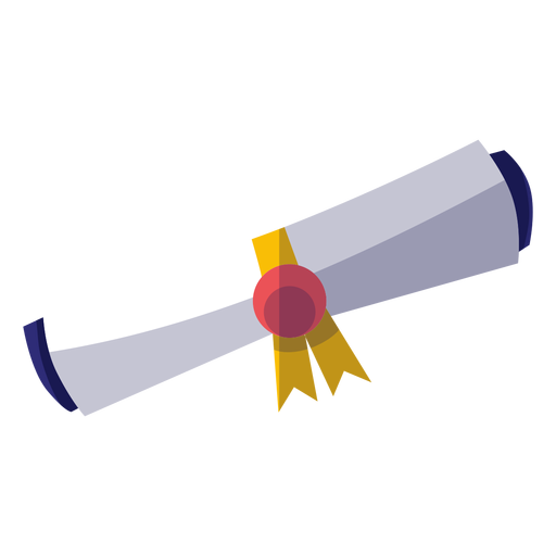 Graduation diploma icon Transparent PNG
