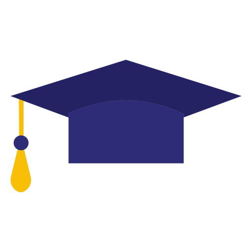 Graduation hat - Transparent PNG & SVG vector file