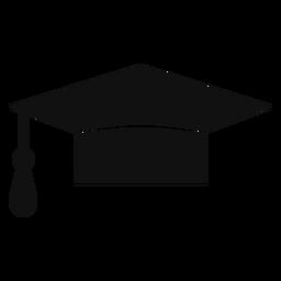 Sombrero de graduación plana
