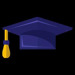 Abschluss-Hut-Symbol