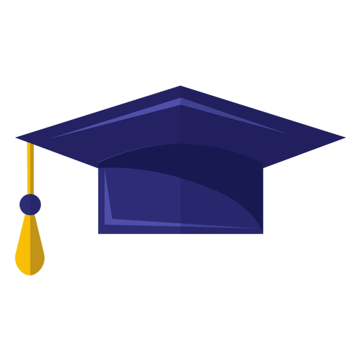 Graduation hat icon Transparent PNG