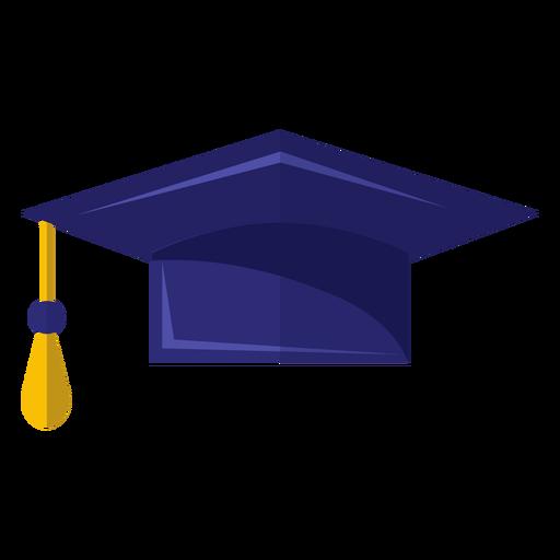 Icono de sombrero de graduación Transparent PNG