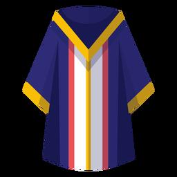 Abschluss Robe Symbol