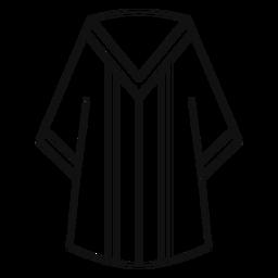 Graduation robe line