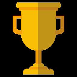 Icono de copa trofeo de graduación