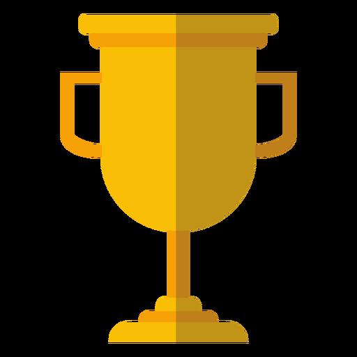 Graduation trophy cup icon
