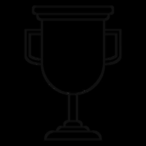 Linha de Copa do troféu de formatura Transparent PNG