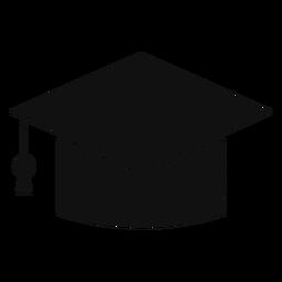 Gtaduate cap silhouette
