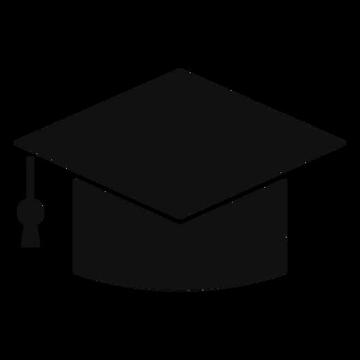Gtaduate cap silhouette Transparent PNG