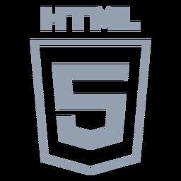 Html programming language flat
