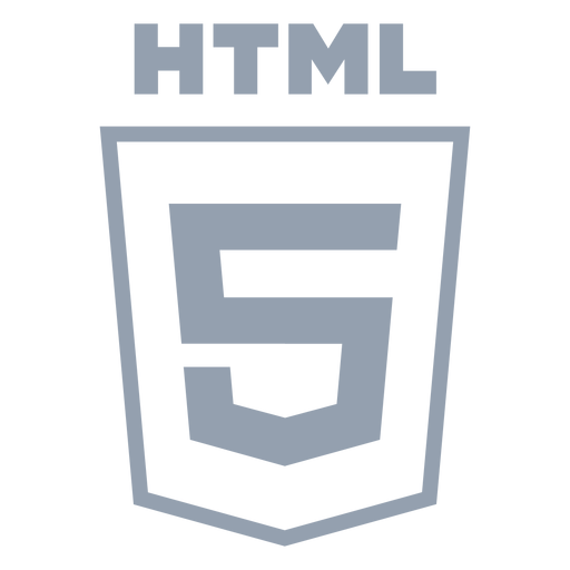 Html programming language flat Transparent PNG