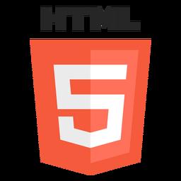 Ícone da linguagem de programação HTML