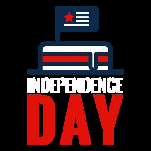 Icono de la torta del día de la independencia Transparent PNG