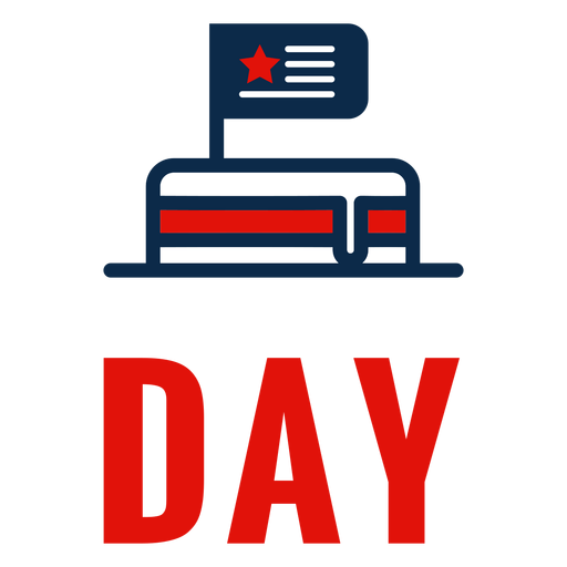 Icono de pastel de día de la independencia