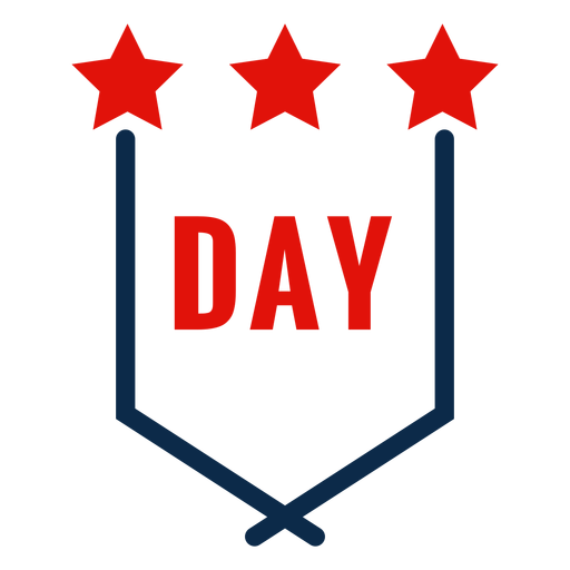 Independence day emblem icon Transparent PNG